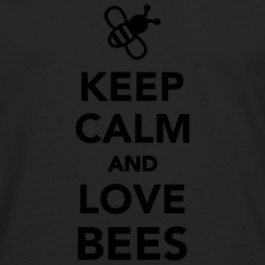 Keep calm and love Bees Kids' Shirts - Men's Premium Long Sleeve T-Shirt