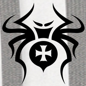 Spider Tribal Tattoo 6 Accessories - Contrast Hoodie