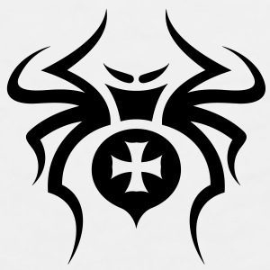 Spider Tribal Tattoo 6 Accessories - Men's Premium Tank