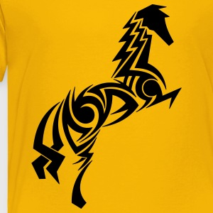 Horse Tribal Tattoo 1 Kids' Shirts - Toddler Premium T-Shirt