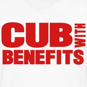 CUB WITH BENEFITS - Men's Premium Long Sleeve T-Shirt