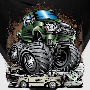 Monster Truck Tacoma Long Sleeve Shirts - Bandana
