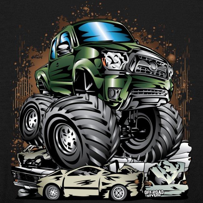Tacoma Monster Truck Green