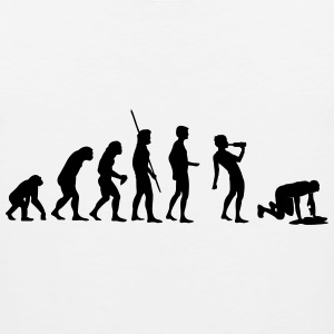 Evolution drinking Shirt - Men's Premium Tank