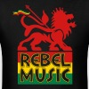 Rebel Music T-Shirts - Men's T-Shirt