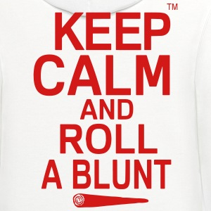 Keep Calm And Roll A Blunt T-Shirts - Contrast Hoodie