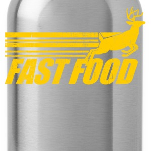 Fast Food Deer T-Shirts - Water Bottle