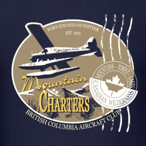 Seaplane - Aircraft - Canada - Mountain Long Sleeve Shirts - Men's T-Shirt