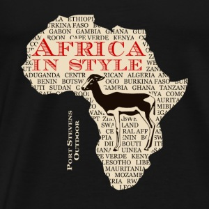 Antelope  - Africa - Safari Hoodies - Men's Premium T-Shirt