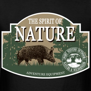 Boar -  Nature -  Hunting -  Hunter Hoodies - Men's T-Shirt