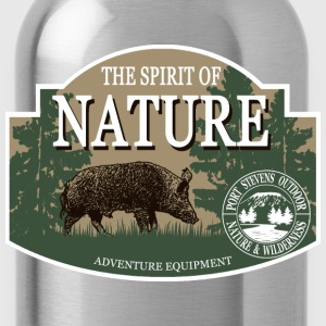 Boar -  Nature -  Hunting -  Hunter Hoodies - Water Bottle