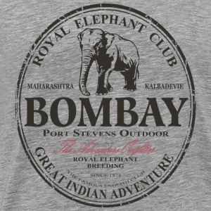 Elephant - Asia - India - Safari Long Sleeve Shirts - Men's Premium T-Shirt