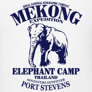 Elephant - Asia - Thailand - Safari Tanks - Men's T-Shirt