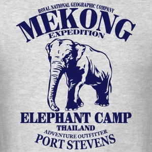 Elephant - Asia - Thailand - Safari Hoodies - Men's T-Shirt