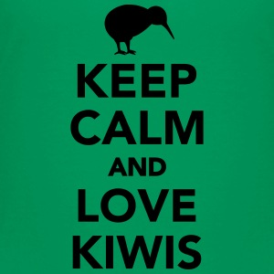 Keep calm and love kiwis Kids' Shirts - Toddler Premium T-Shirt