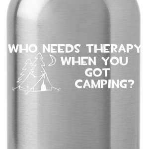 Who Needs Therapy T-Shirts - Water Bottle