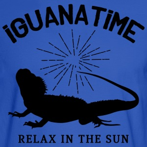 Iguana Time T-Shirts - Men's Long Sleeve T-Shirt