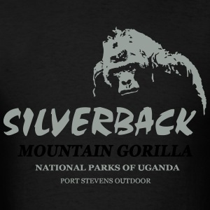 Gorilla - Monkey - Africa - Safari Long Sleeve Shirts - Men's T-Shirt