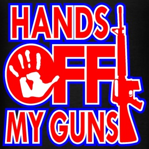 Hands Off My Guns - Men's T-Shirt