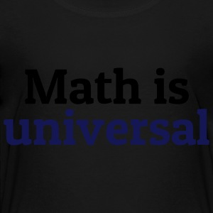 Math is universal Kids' Shirts - Toddler Premium T-Shirt