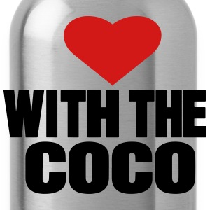 LOVE WITH THE COCO - Water Bottle