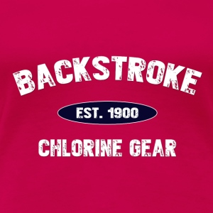 Backstroke est. 1900 Tanks - Women's Premium T-Shirt