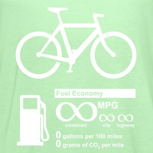 Bicycle Infinity MPG Fuel Economy - Women's Flowy Tank Top by Bella