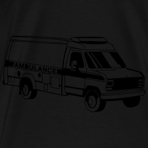 Ambulance Car Hoodies - Men's Premium T-Shirt