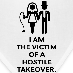 Victim Of Hostile Takeover (Bachelor Party, Groom) T-Shirts - Bandana