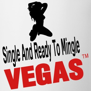 SINGLE AND READY TO MINGLE VEGAS - Coffee/Tea Mug