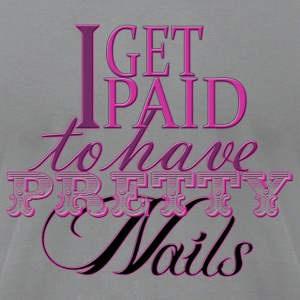 Pretty Nails - Men's T-Shirt by American Apparel