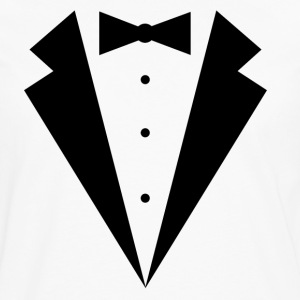 TUXEDO SHIRT, wedding, bachelor, bachelorette, smo - Men's Premium Long Sleeve T-Shirt