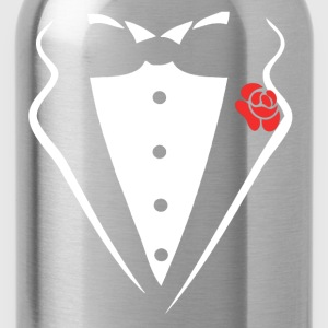 TUXEDO SMOKING SHIRT - Water Bottle