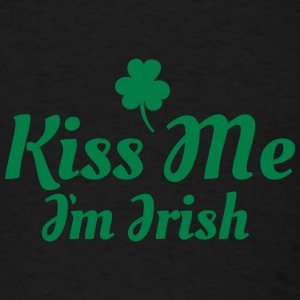 kiss me i'm irish excellent Tanks - Men's T-Shirt
