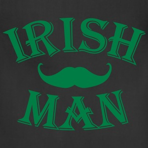 irish man / irish man mustache Hoodies - Adjustable Apron