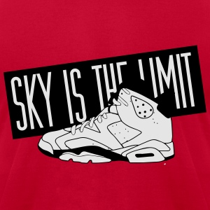 Sky Is The Limit, Jordan Inspiration Long Sleeve Shirts - Men's T-Shirt by American Apparel