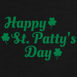 happy st patty's day Mugs & Drinkware - Men's Premium T-Shirt