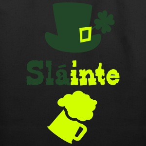 Slainte cheers green beer Men's Premium T-Shirt - Eco-Friendly Cotton Tote