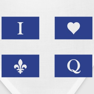 I love Quebec - Bandana
