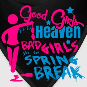Bad girls go on spring break Women's T-Shirts - Bandana