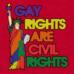 Gay rights - Men's T-Shirt by American Apparel