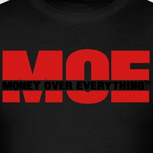 MONEY OVER EVERYTHING - Men's T-Shirt
