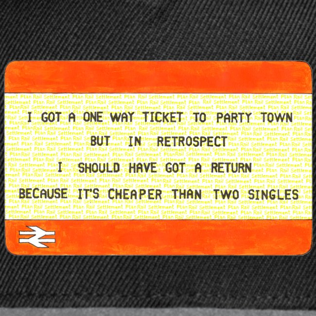 One Way Ticket to Party Town - Tote Bag