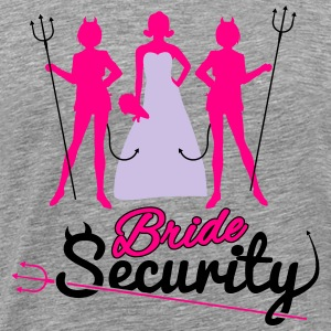 Bride Security Hoodies - Men's Premium T-Shirt