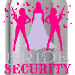 Bride Security Tanks - Water Bottle