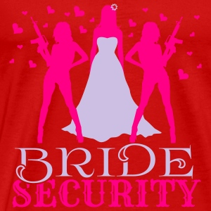 Bride Security Tanks - Men's Premium T-Shirt