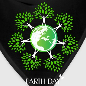 Earth Day Tree People T-Shirts - Bandana