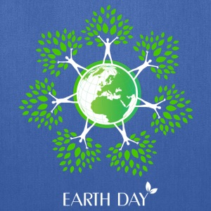 Earth Day Tree People T-Shirts - Tote Bag