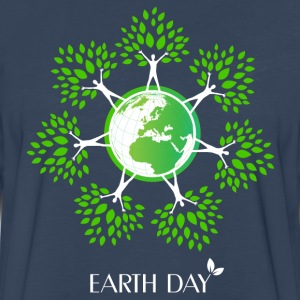 Earth Day Tree People T-Shirts - Men's Premium Long Sleeve T-Shirt