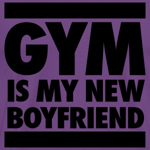 Gym Is My New Boyfriend Hoodies - Men's Premium T-Shirt